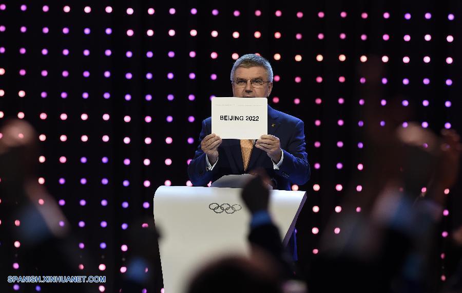 Beijing Gana El Derecho A Organizar Los Juegos Olimpicos De Invierno