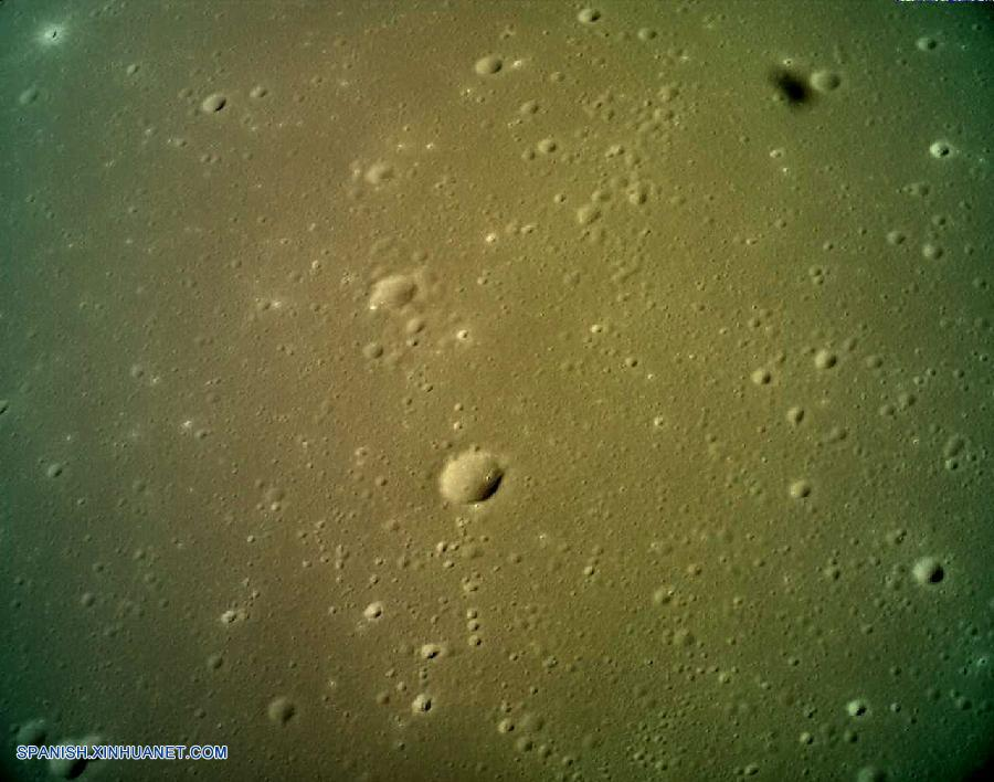 Sonda lunar de china toma fotograf as detalladas de luna for En q luna estamos hoy