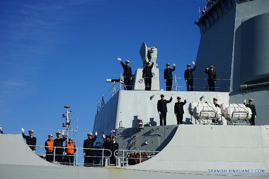 (XHDW)(1)中国海军舰艇编队抵达波兰进行首访