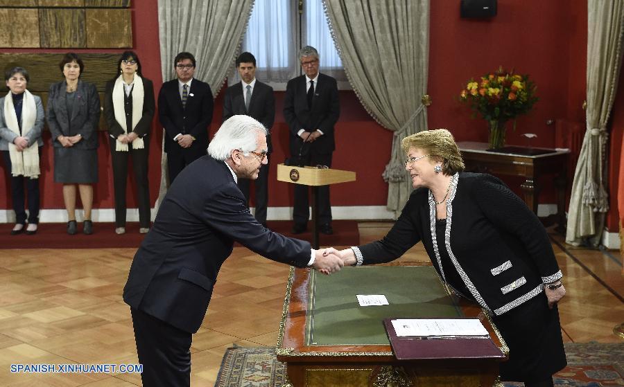 Presidenta de chile designa nuevo ministro del interior for Nuevo ministro del interior peru