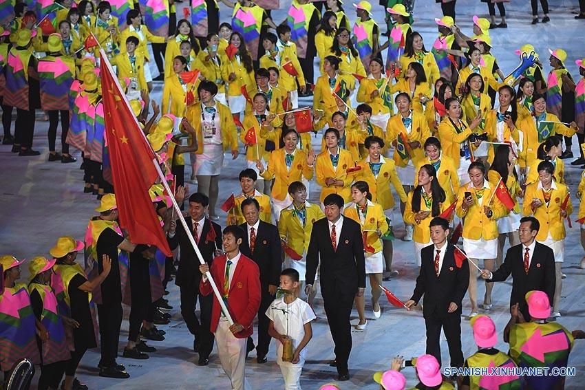 Resultado de imagen para delegacion olimpica de China