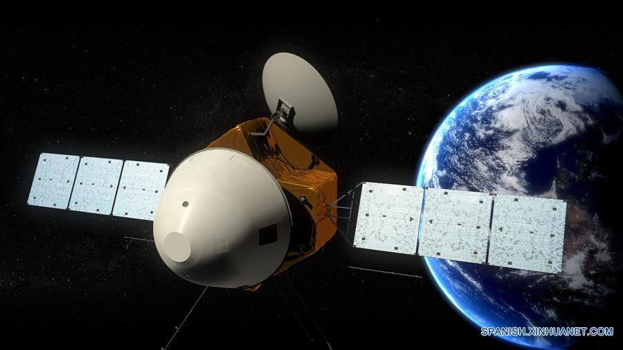 """(科技)(1)中国火星车亮相 有4个""""大翅膀"""""""
