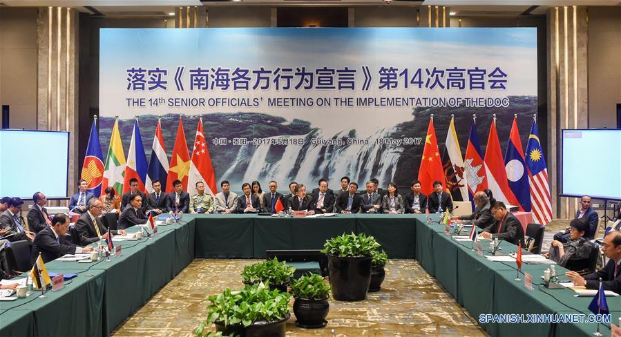 China y países de Asean pactan marco de Código de Conducta en Mar ...