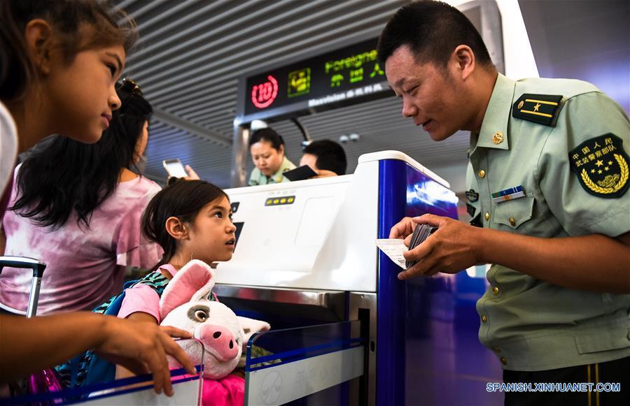 CHINA-JIANGSU-SEGURIDAD FRONTERIZA