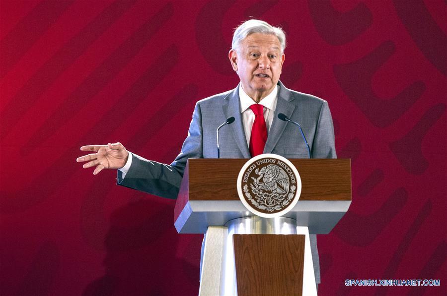 MEXICO-CIUDAD DE MEXICO-LOPEZ OBRADOR