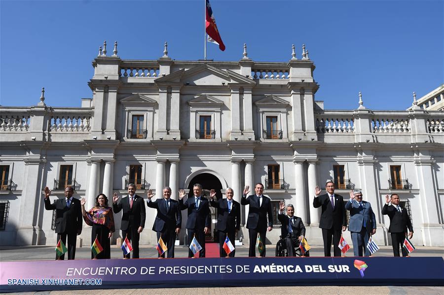 Resultado de imagen para 2019. Chile. Reunión de PRESIDENTES DE aMÉRICA del Sur