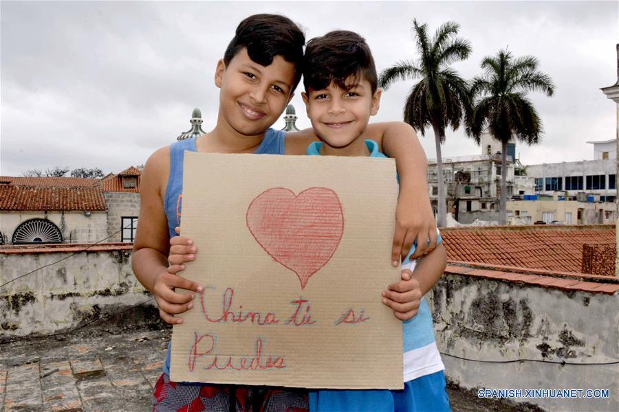 CUBA-HABANA-CHINA-NUEVO CORONAVIRUS-APOYO