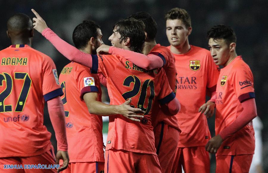 Fútbol: Barcelona avanza a cuartos de final en Copa del ...