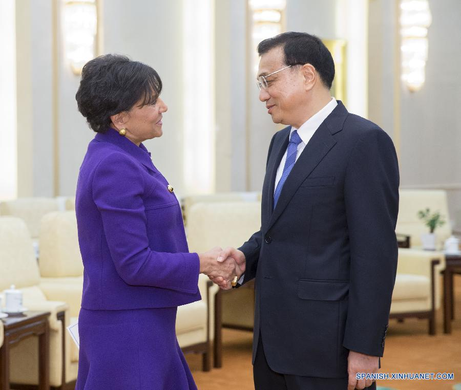 CHINA-BEIJING-LI KEQIANG-U.S.PRITZKER-MEETING (CN)