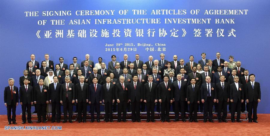 China promueve el Banco Asiático de Inversión en Infraestruturas. 57 Estados fundadores. 134366196_14355802104231n
