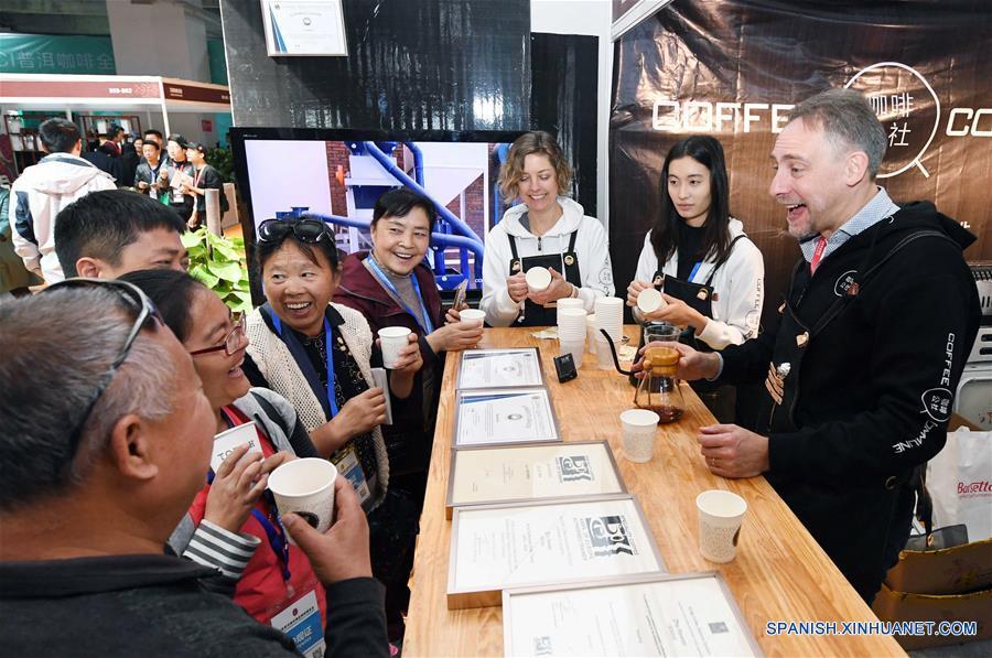 Resultado de imagem para La 1 Expo Internacional de Café Especial Pu'er