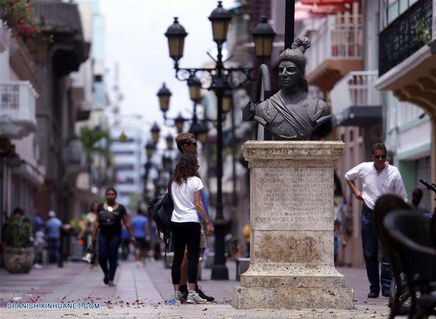 (5)REPUBLICA DOMINICANA-SANTO DOMINGO-CHINA-CIUDAD COLONIAL-SERIE
