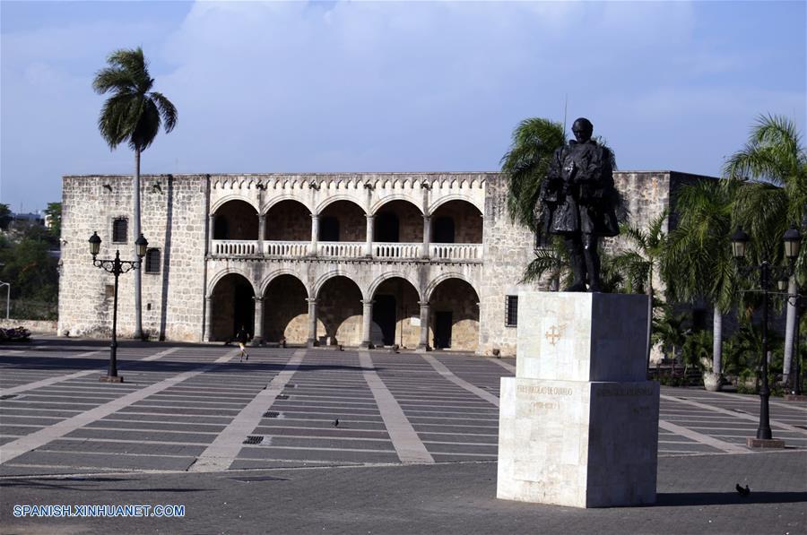 (7)REPUBLICA DOMINICANA-SANTO DOMINGO-CHINA-CIUDAD COLONIAL-SERIE