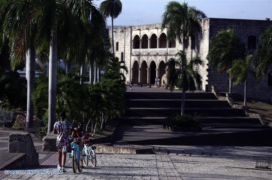 (9)REPUBLICA DOMINICANA-SANTO DOMINGO-CHINA-CIUDAD COLONIAL-SERIE