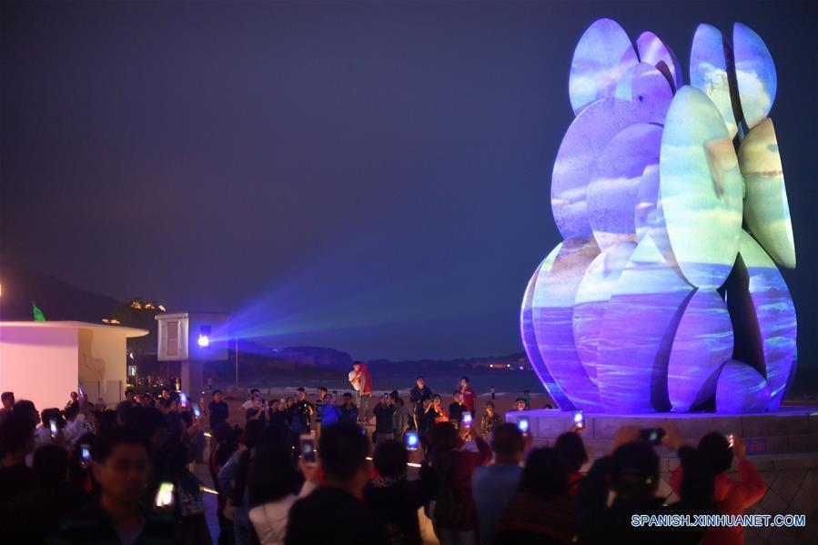 CHINA-QINGDAO-SCO SUMMIT-NIGHT VIEW(CN)