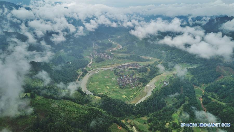 CHINA-GUIZHOU-PAISAJE