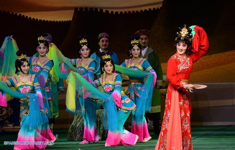 CHINA-SHAANXI-RUTA DE LA SEDA-FESTIVAL DE ARTES