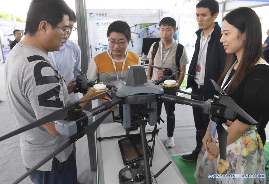 CHINA-CHENGDU-DRONES