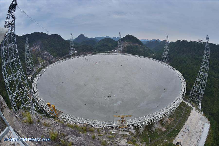 CHINA-GUIZHOU-TELESCOPIO FAST-PULSARES