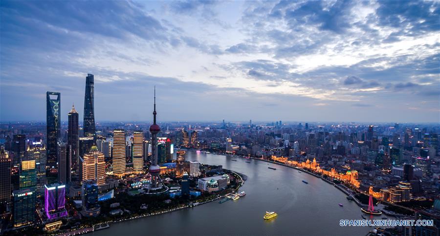 CHINA-SHANGHAI-CIIE-PAISAJE DE LA CIUDAD