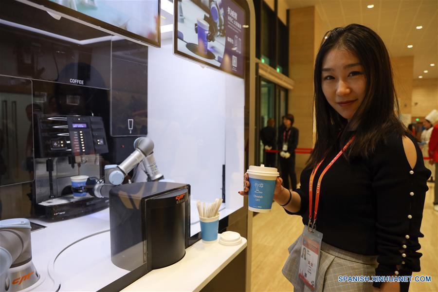 CHINA-SHANGHAI-CIIE-CENTRO DE PRENSA