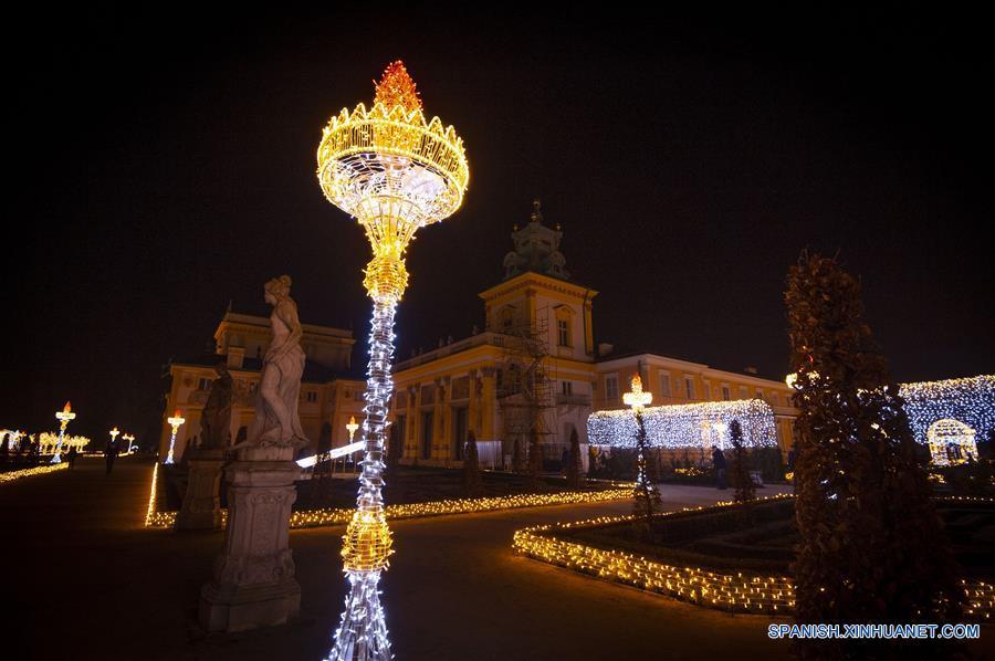 POLONIA-VARSOVIA-PALACIO WILANOW-EXPOSICION-JARDIN REAL DE LA LUZ