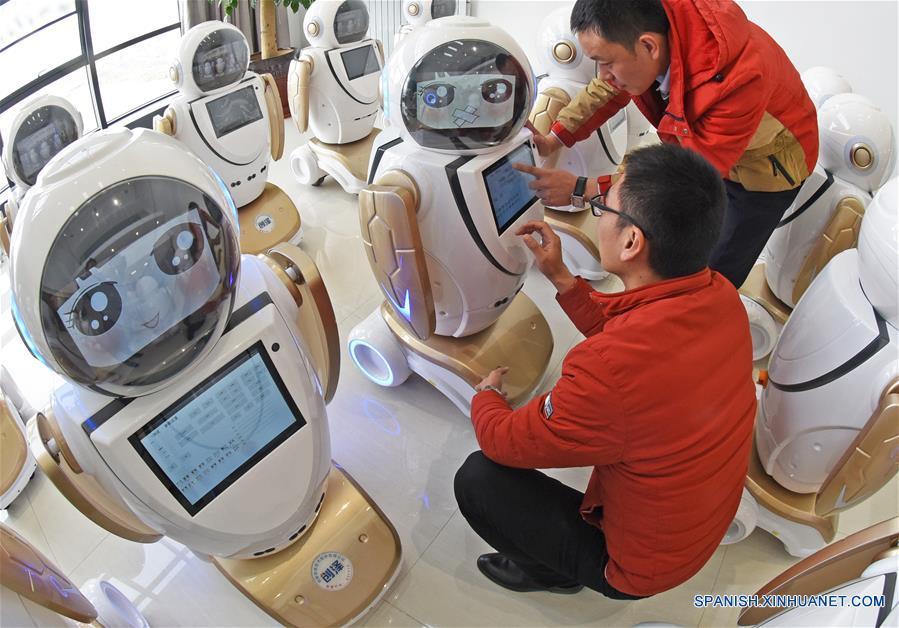 CHINA-JIANGSU-ROBOT
