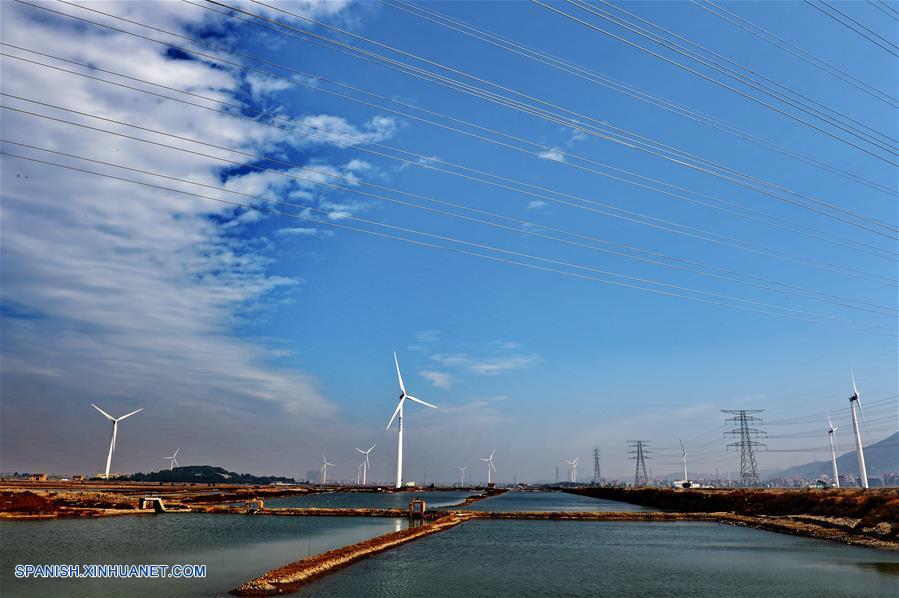 CHINA-FUJIAN-ENERGIA EOLICA