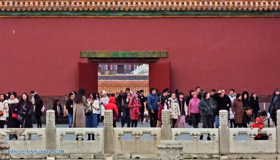 CHINA-BEIJING-MUSEO DEL PALACIO-17 MILLONES-VISITANTES