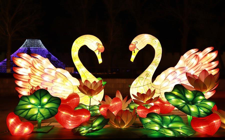 CHINA-HEBEI-FESTIVAL DE LOS FAROLES-CELEBRACION