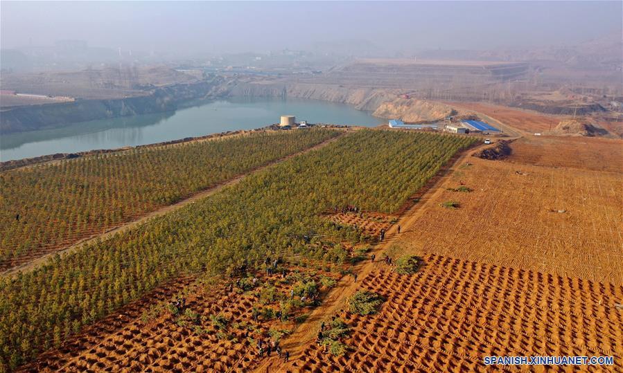 CHINA-HEBEI-CONSTRUCCION DE LA CIVILIZACION ECOLOGICA-SERIE
