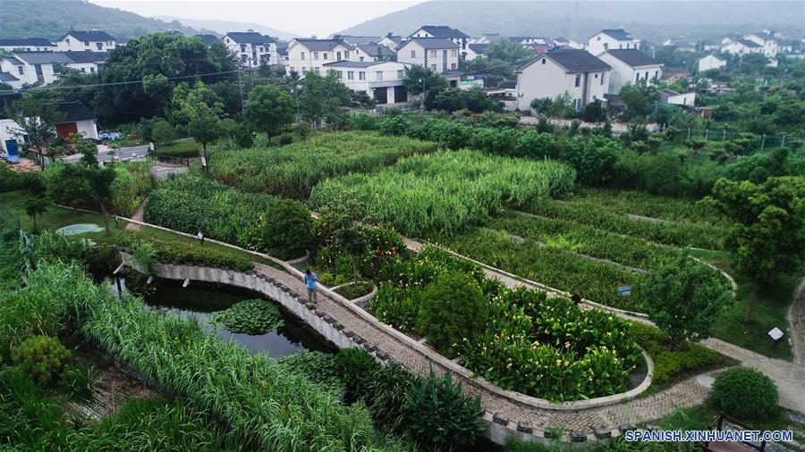 CHINA-JIANGSU-CONSTRUCCION DE LA CIVILIZACION ECOLOGICA-SERIE