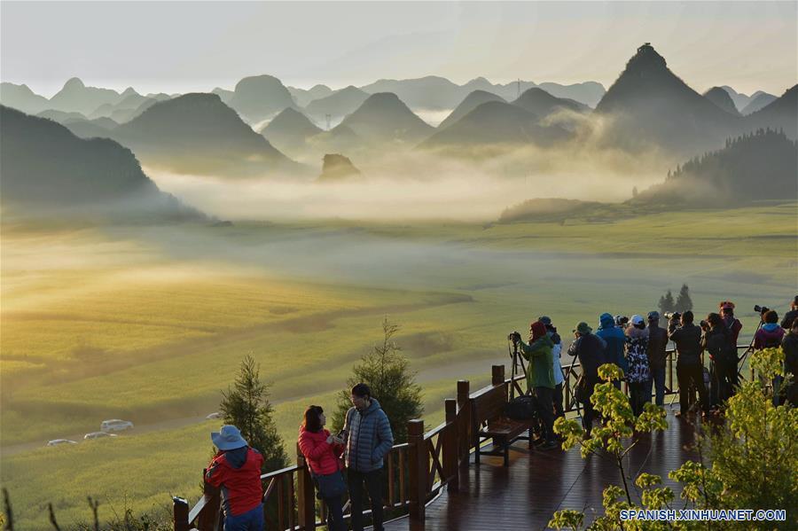 CHINA-YUNNAN-CONSTRUCCION DE LA CIVILIZACION ECOLOGICA-SERIE