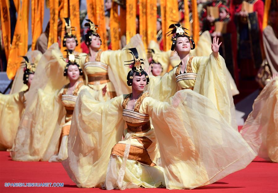 CHINA-SHAANXI-HUANGDI-CEREMONIA