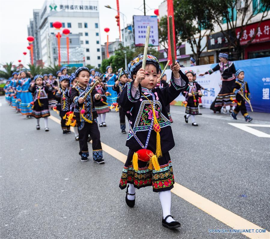 CHINA-GUIZHOU-FESTIVAL CULTURAL