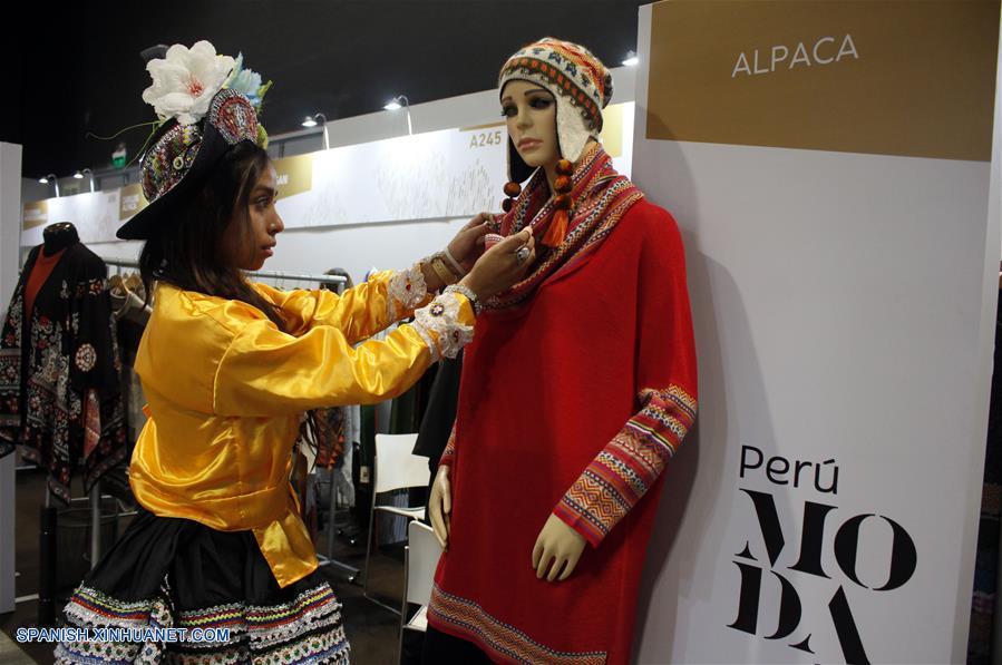 PERU-LIMA-FERIA PERU MODA