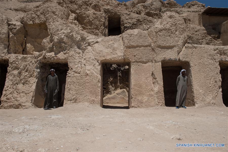 EGIPTO-LUXOR-TUMBA-HALLAZGO