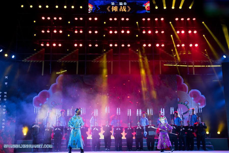 Yunnan: Se Inaugura El 5 Festival Cultural De ópera Nuo De