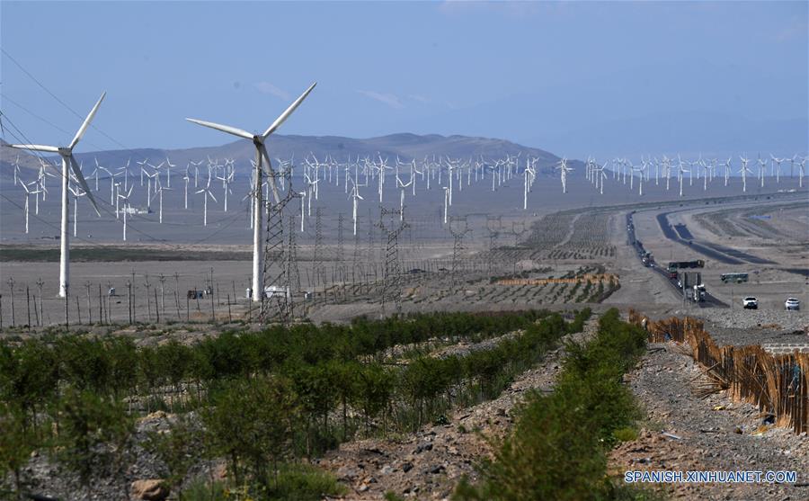 CHINA-XINJIANG-ENERGIA EOLICA