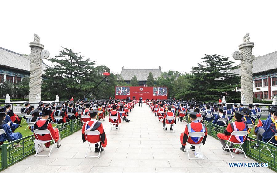 CHINA-BEIJING-UNIVERSIDAD DE PEKING-CEREMONIA DE GRADUACION