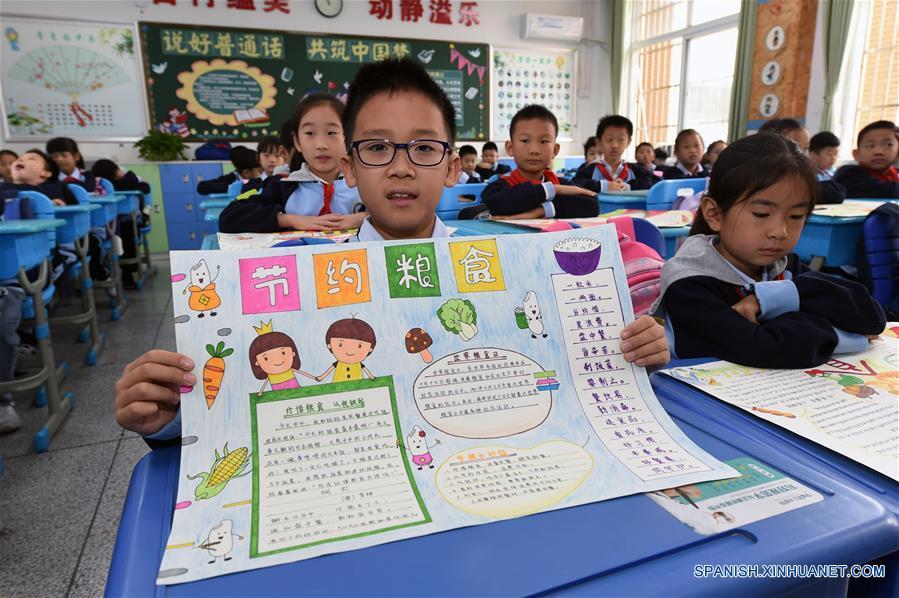CHINA-ANHUI-HEFEI-ESCUELAS-CAMPAÑA DE EDUCACION