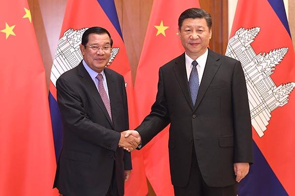 China y Camboya prometen implementar planes de cooperación bajo Iniciativa de la  Franja y la Ruta