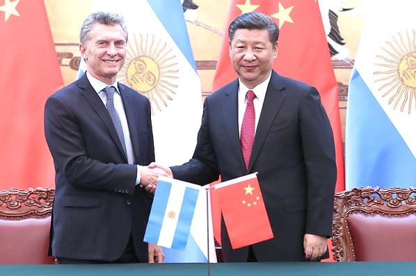 China y Argentina prometen fortalecer relaciones bilaterales
