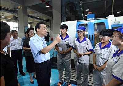 "Primer ministro chino enfatiza formación profesional para fomentar productos ""Hecho  en China"""