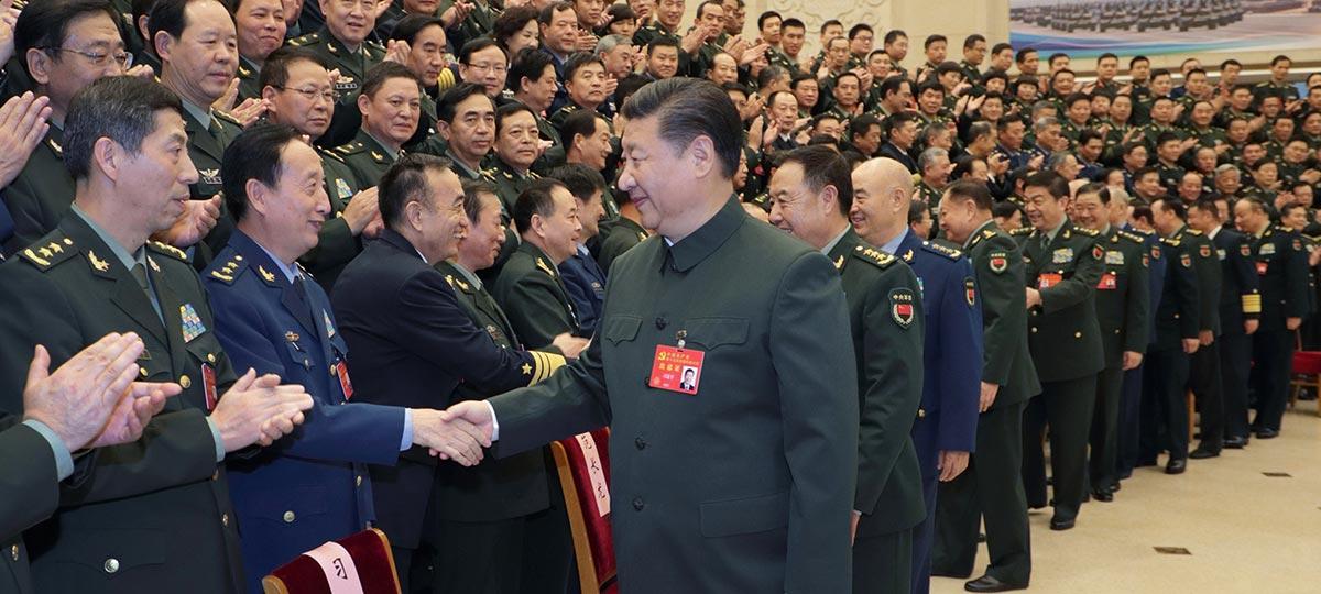 Xi pide construir un ejército fuerte