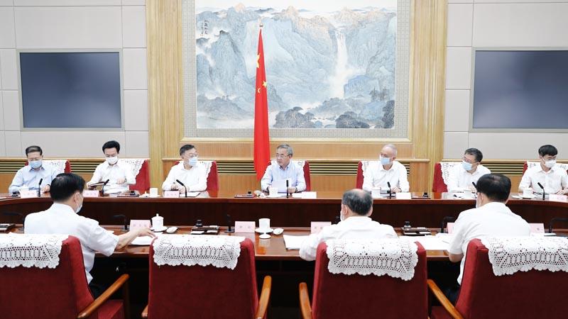 Viceprimer ministro Hu Chunhua pide preparación sólida de feria internacional de comercio de servicios
