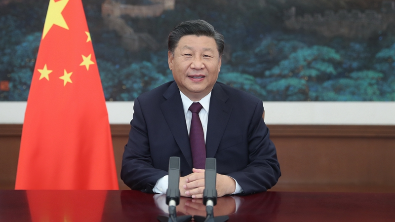 Xi destaca promoción de prosperidad de comercio de servicios y pronta recuperación de economía mundial