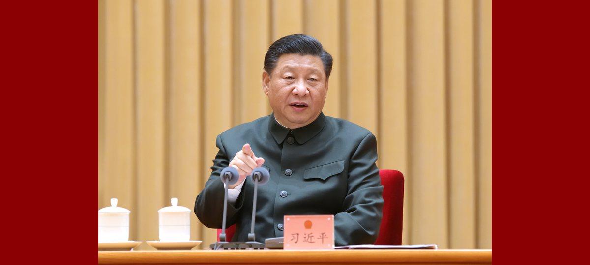 (Dos sesiones) Xi resalta importancia de iniciar bien fortalecimiento de ejército y defensa nacional en 2021-2025