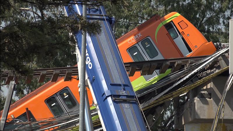 Suman 24 el número de fallecidos por desplome de tramo elevado en Metro de Ciudad de México