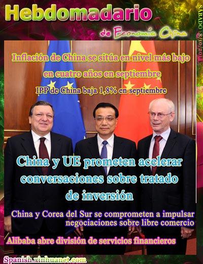 Hebdomadario de economía china 1013-1019